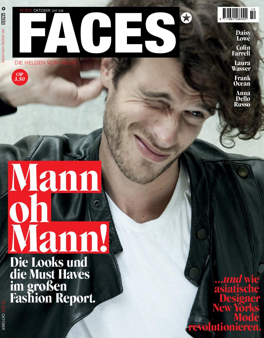 Faces Magazine <br> October 2012