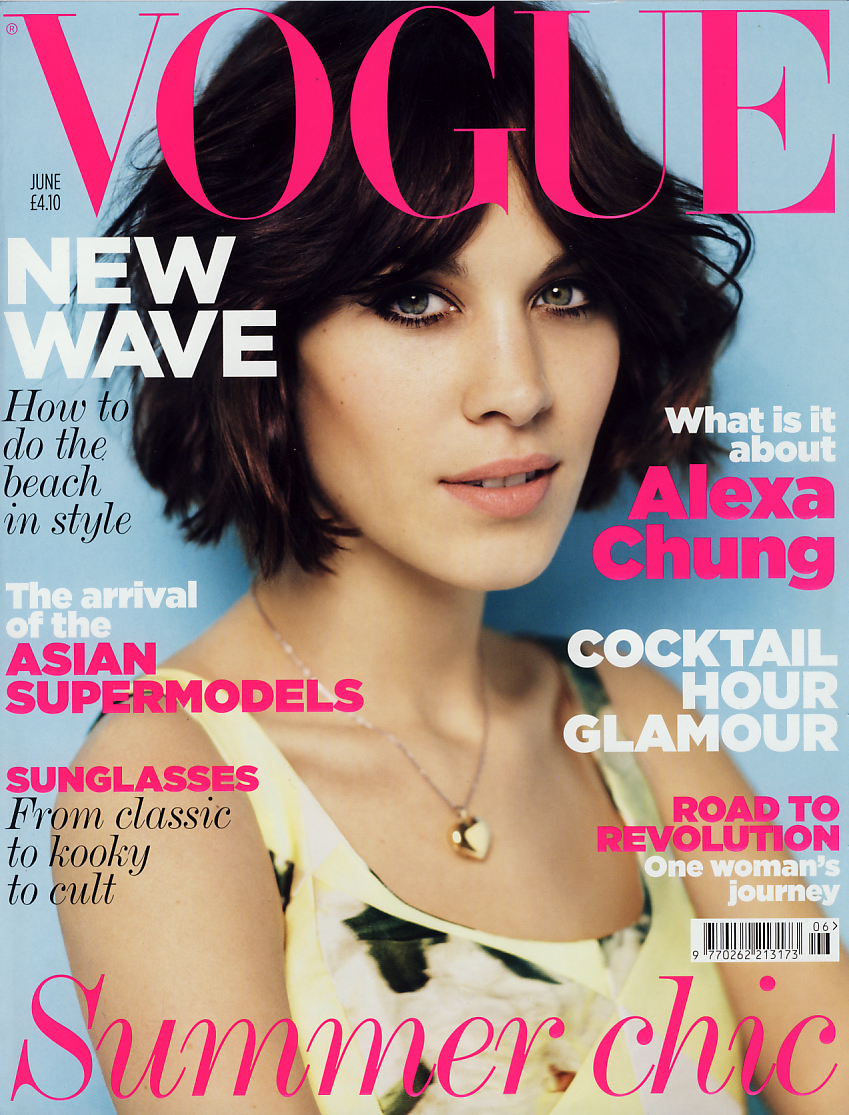 British Vogue <br> June 2011