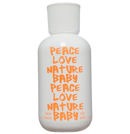 PEACE LOVE NATURE BABY - Orange Peel