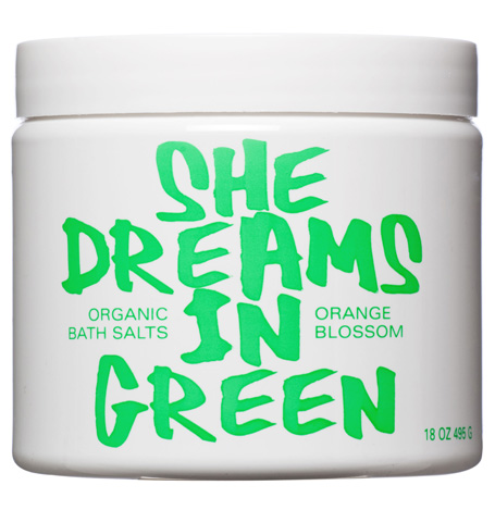 She Dreams in Green - Orange Blossom