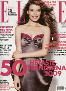 ELLE Sweden <br>January 2009