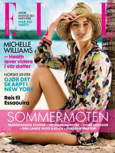 Norwegian ELLE <br> July 2008