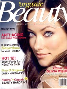 Organic Beauty Magazine <br> February 2009