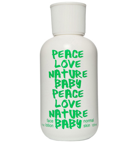 PEACE LOVE NATURE BABY - Lavender
